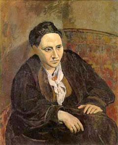 Gertrude Stein by Pablo Picasso